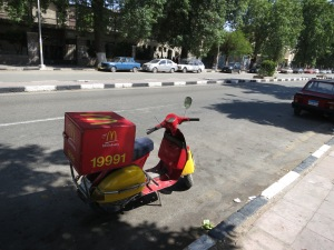 McDelivery in Aswan!