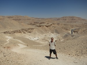 Me above the Valley of the Kings