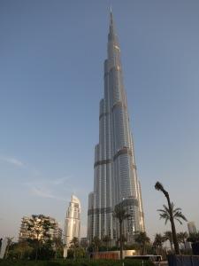 The Burj Khalifa, Dubai – tallest building in the world