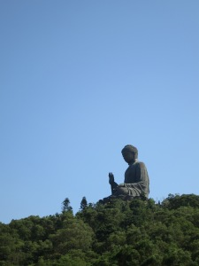 Tian Tan Buddha, at Ngong Ping, on Lantau Island