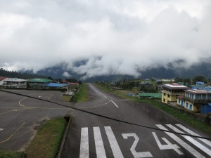 Tenzing-Hillary Airport, Lukla, closed