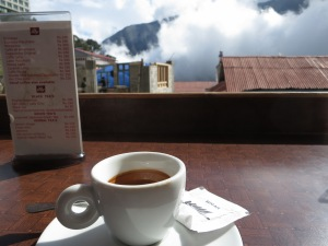 Probably the most remote Illy coffee I've ever enjoyed.  It was actually pretty good, too.
