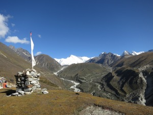 On the way to Gokyo, just out of Machermo