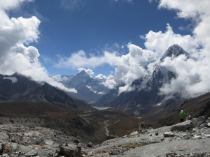 The view of the valley that awaited us on the climb down after the Chola Pass
