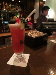 The obligatory Singapore Sling