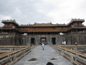 Ngo Mon Gate (the Noon Gate), in the ancient Imperial Citadel of Hue