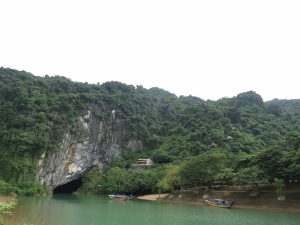 The entrance to Phong Nha Cavern – until recently, believed to be the largest cave in the world