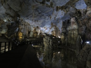 Inside Paradise Cave