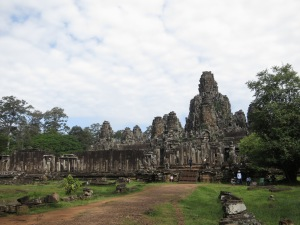 The Bayon, inside Angkor Thom