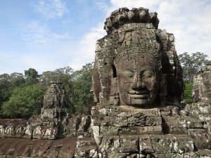 Faces on the Bayon