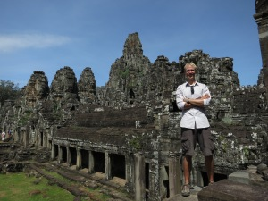 Me exploring the Bayon