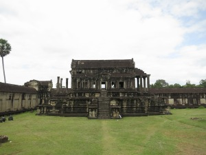 A small side temple within Angkor Wat