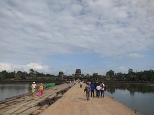 The western entrance to Angkor Wat