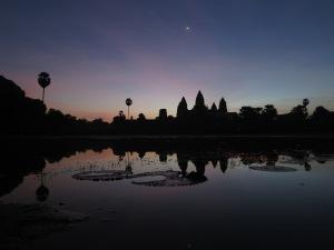 Pre-dawn at Angkor Wat