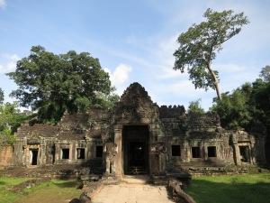Inside Preah Khan