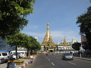 Sula Paya in the centre of Yangon