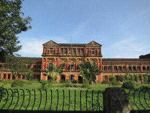 The Ministers' Building (formerly the Secretariat Building) in Yangon – a beautiful old colonial building in its now almost jungle-like grounds in the middle of the city