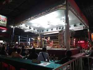 Muy Thai boxing in Chiang Mai