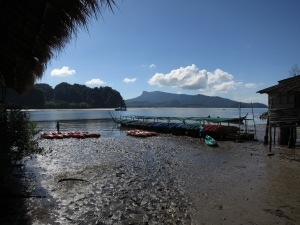 About to go kayaking near Krabi