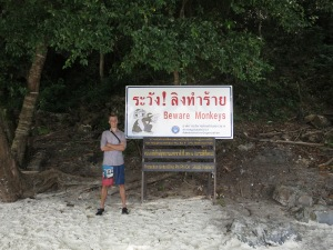 On Monkey Beach, Ko Phi Phi Don