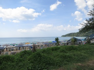 Crowded beaches at Patong