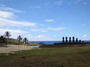 Moai at Anakena