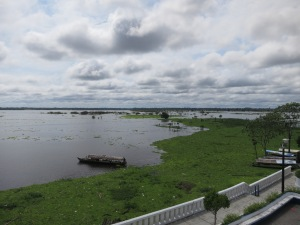 The Amazon River, seen from Iquitos