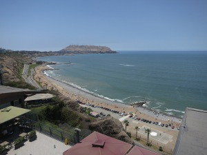 Lima foreshore, as seen from LarcoMar shopping centre