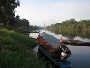 A final look upriver, deeper into the jungle, before we hopped on our boat to head back to Iquitos