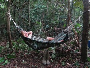Comfortably a-hammock