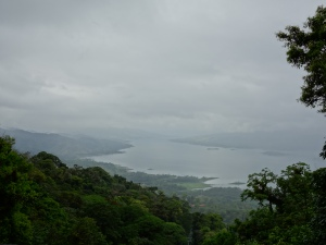 Lake Arenal, seen from the Sky Tram up to the ziplining