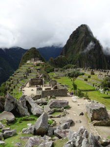 The 'back' of Machu Picchu – a little less crowded with buildings (and people, for that matter)