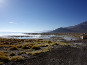 A great spot for a hot spring bath in southern Bolivia