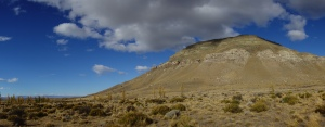 The hill next to El Calafate – a good climb for a good view, but, err, slightly tricky in parts