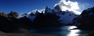 The view from Laguna de los Tres